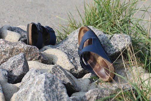 Sandals, Shoes, Mountain Pine, Summer, Run, Vacations