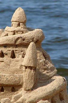 Sand, Beach, Summer, Building A Sand, Sea, Vacation