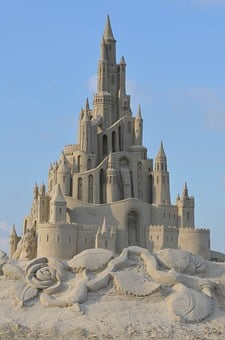 Sand Sculpture, Structures Of Sand, Tales From Sand