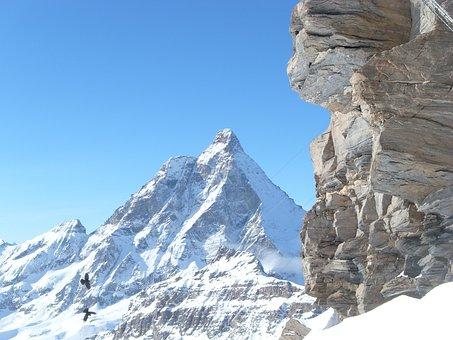 Matterhorn, Western Wall, Monte Cervinho, The Alps
