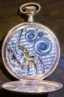 Watch, Pocket Watch, Time, Timepiece, Gears, Crown