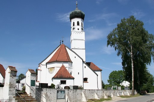 Altdorf, Pfettrach, Sankt Othmar, Church, Bavaria