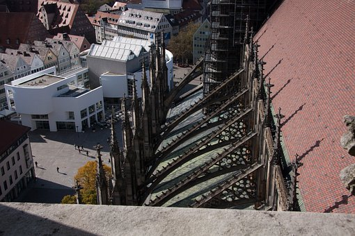 Buttress, Flying Buttresses, Buttresses