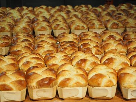 Hefekranz, Easter Braid, Vteig, Cake, Plait, Butterzopf