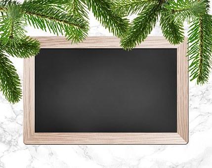 Christmas Party, Christmas Dinner, Chalkboard