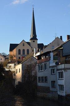 City, Waxweiler, Church, Buildings, Church Tower