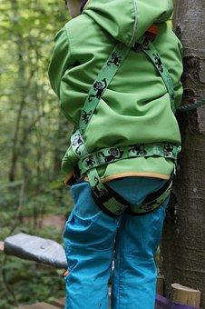 Climbing Harness, Climb, High Ropes Course