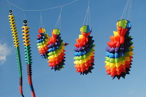 Dragon Festival, Dragon Fly, Hanover, Kronsberg, Clouds