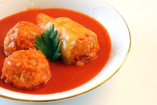 Food, Hungarian Food, Stuffed Peppers