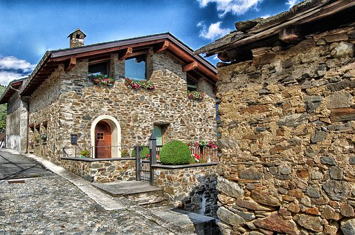 Tirano, Italy, Buildings, Houses, Homes, Architecture