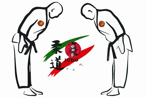 Bow, Martial Arts, Obeisance, Judo, Sports, Competition