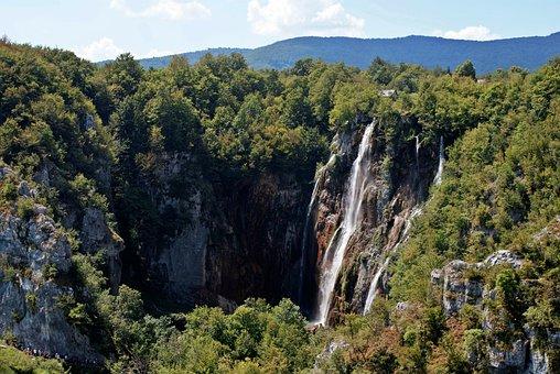 Plivicer Lakes, Lake, Croatia, National Park, Nature