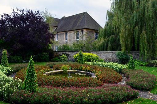 Oxford, Flowers, Rondelle, Garden, Green, Maintained
