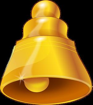 Bell, Gold, Ring, Ringing, Wedding, Church Bells