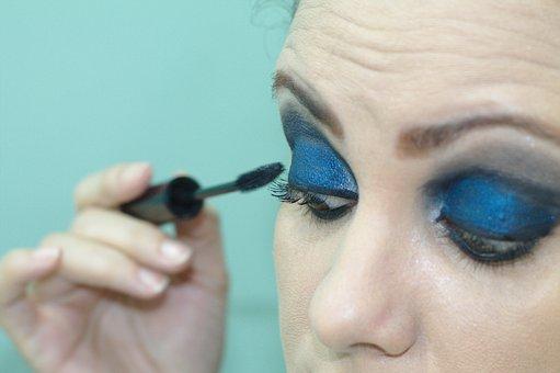 Eyeliner, Cilia, Volume Eyelashes, Makeup