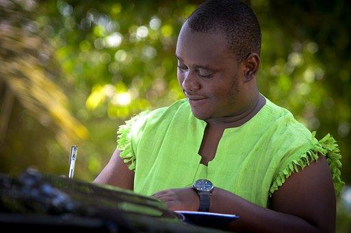 Dan Maxwell, Jr, African Man, Writer, Writing