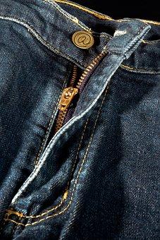 Jeans, Fashion, Pants, Blue, Zipper, Clothing