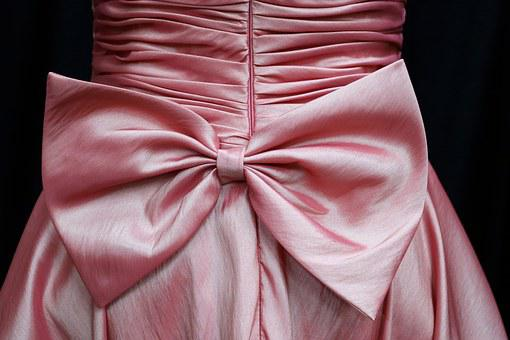 Bow, Knot, Bodice, Ruched, Ruffled, Ruching, Ruffles