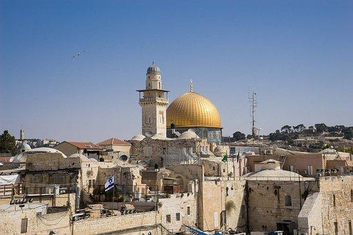 Jerusalem, Israel, Middle East, Architecture, City