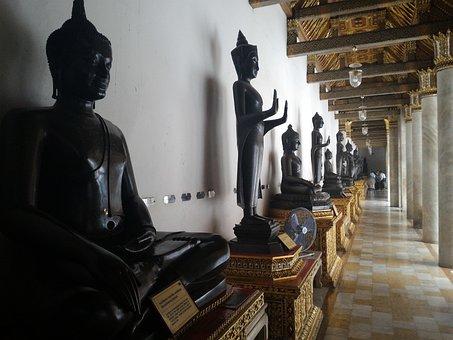 Buddha Statue, Buddhism, Religion, Faith, Art, Image
