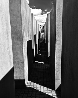 Berlin, Jewish, Memorial, Landmark, Germany, Europe
