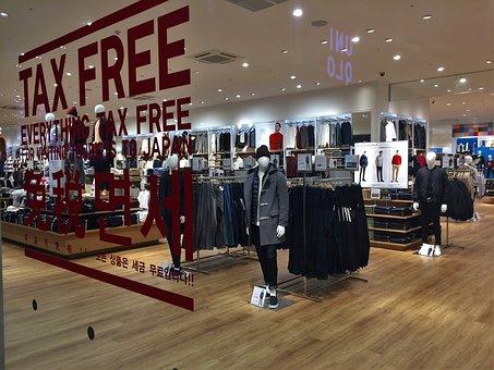 Tax-free, Glass, Window, Uniqlo, Jeans, Men's Things
