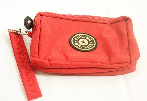 Bag, Handbag, Purse, Pink, Red, Fashion, Glamour