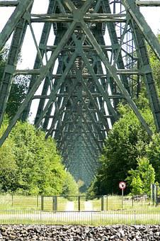 High Bridge, Railway Bridge, North Baltic Canal