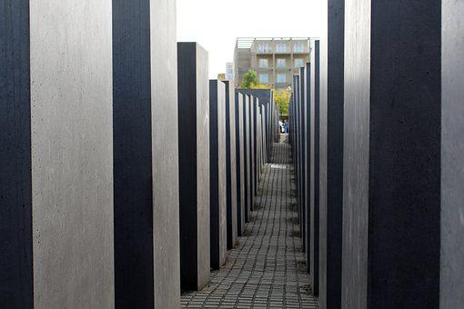 Berlin, Monument, Germany, Holocaust