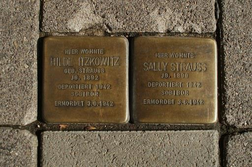 Memorial, Holocaust, Stolpersteine, Saarbruecken