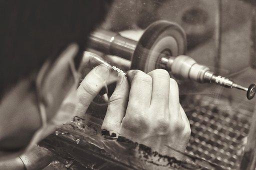 Jewelry Manufacturing, Manufacturing, Polishing, Work