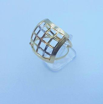 Ring, 3 Shades, Jewels