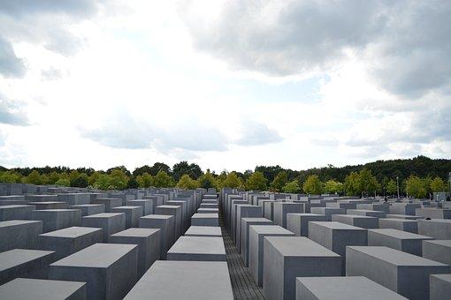 Memorial, Holocaust, Jewish Heritage, Berlin, Monument