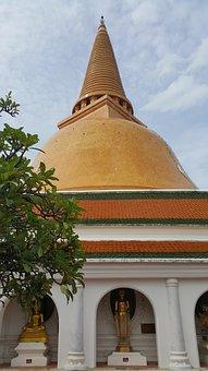 Phra Pathom Chedi, Pagoda, Sathup, Prapathomjedi, Lord