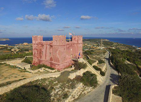 Red Tower, Malta, St Agatha's Tower, Order Of S John