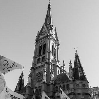 Cathedral, Mar Del Plata, March, Sky