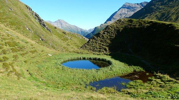 Lake, Circular Lake, Nature, Natural Jewel, Landscape