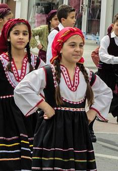 Greek Independence Day, Parade, Kids, Marching