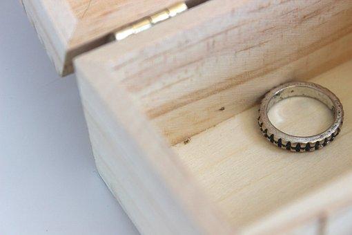Ring, Treasure, Box, Chest, Jewelry, Silver, Precious