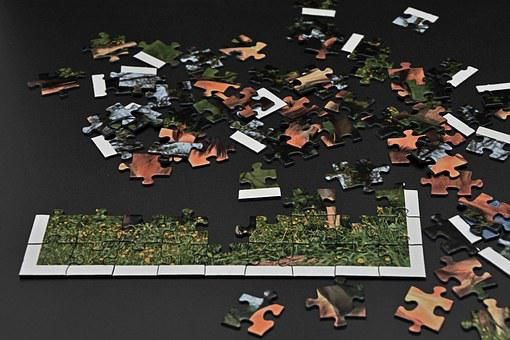 Puzzle, Pieces Of The Puzzle, Rates, Play