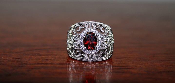 Ring, Garnet, Jewellery, Gemstone, Design, Expensive