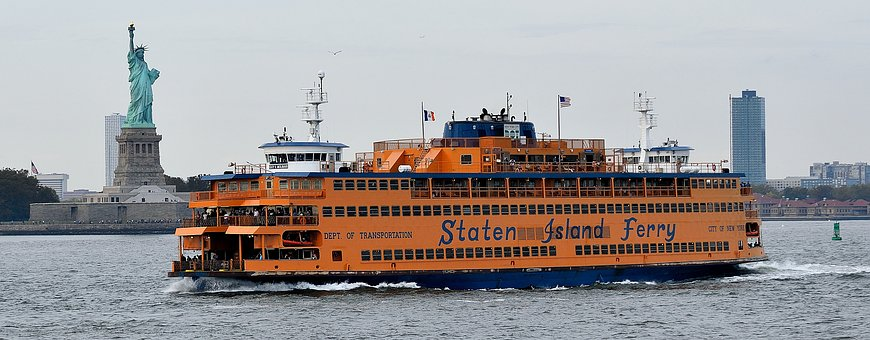New York, Boat, Staten Island