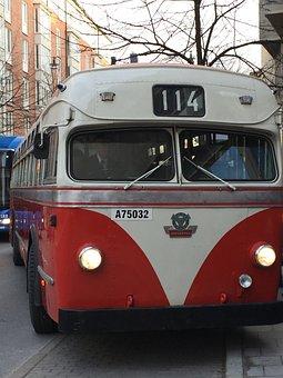 Scania-vabis Metropol, Bus, Traffic, Street, Old, Retro
