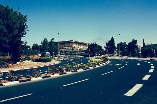 Jerusalem, Israel, The Knesset, Architecture, Tourism