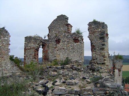 Castle, Ruins, Monument, Things To Do, Košumberk Castle