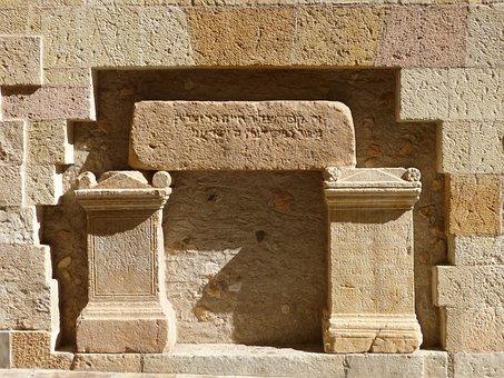 Tomb, Tombstone, Roman Art, Jewish Grave, Texture