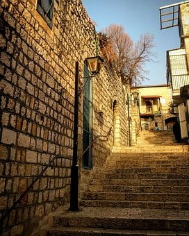 Old City, Israel, Architecture, Travel, Wall, Stone