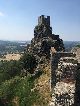 Trosky Castle, Ruins, 8 Wonder Of The World, Castle