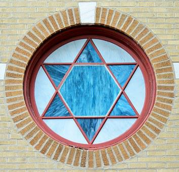 Window, Hublot, Round Window, Star, David's Star