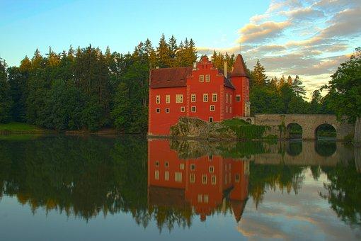 Castle, červená Lhota, Czech Republic, Monument